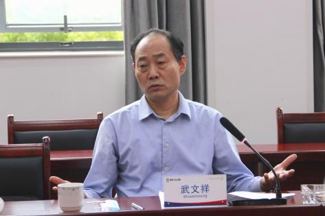 武文祥副局长到六〇四大队<br>宣讲省委十一届七次全会精神